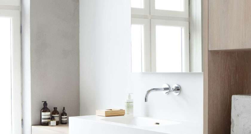 Ideas Creating Minimalist Bathroom Simple Accents Decor