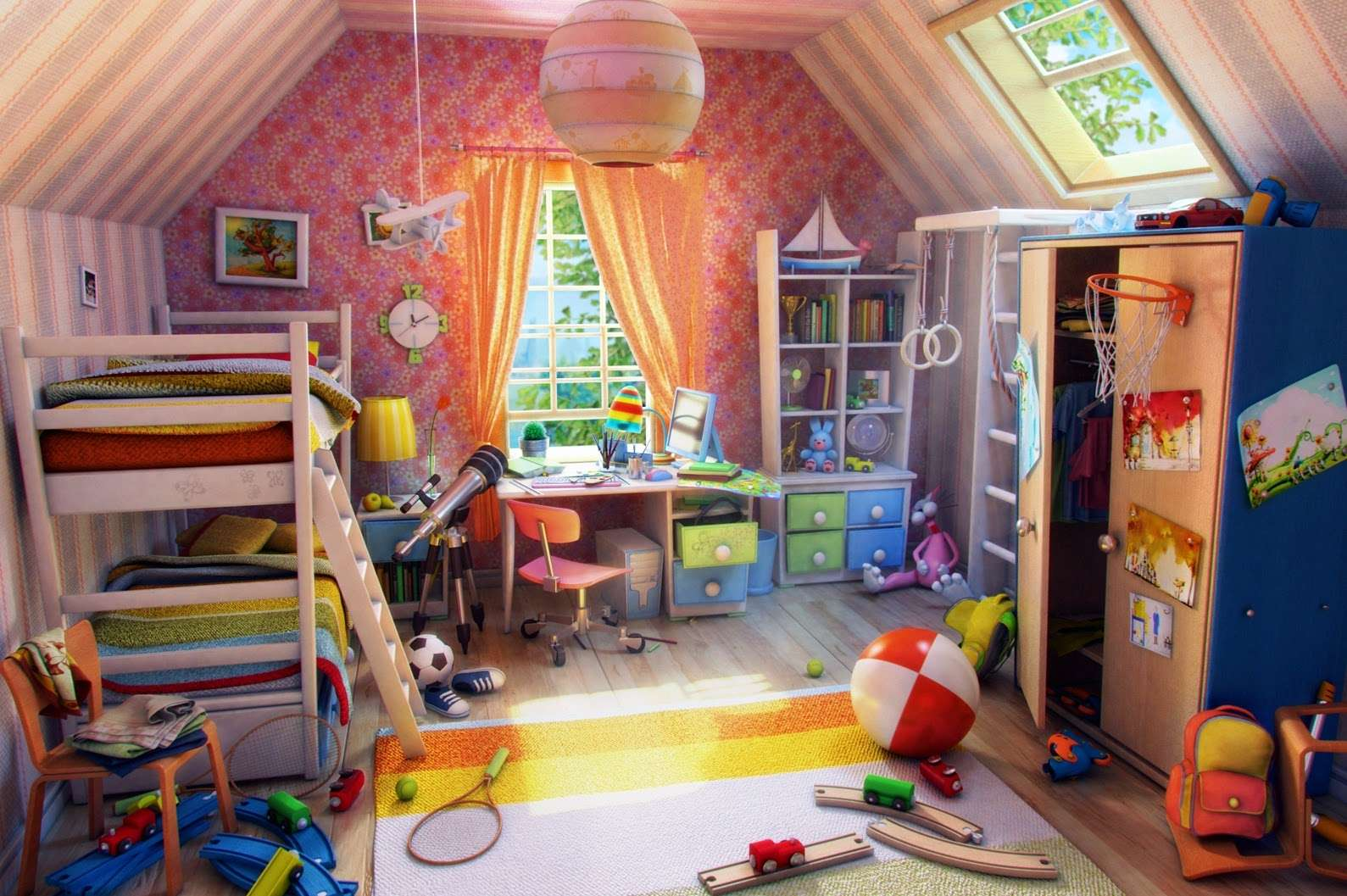 Ideas Decorating Children Bedrooms