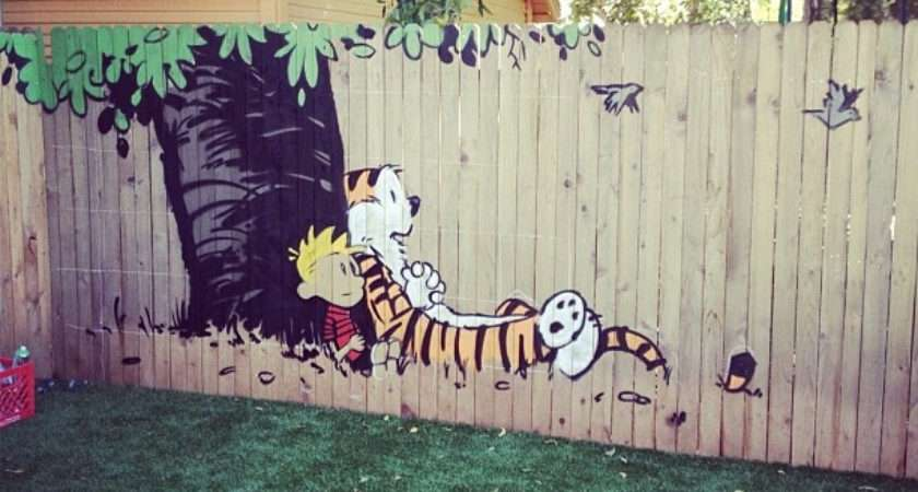 Ideas Decorating Your Garden Fence