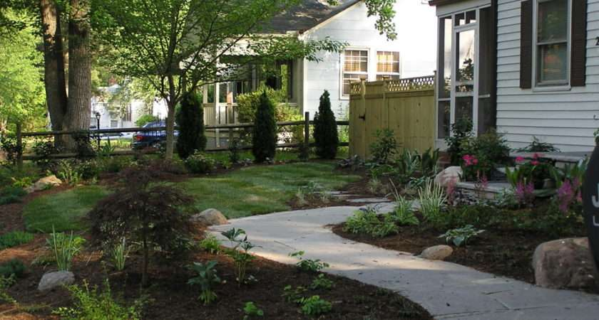 Ideas Heavenly Simple Front Yard Small Garden Landscaping