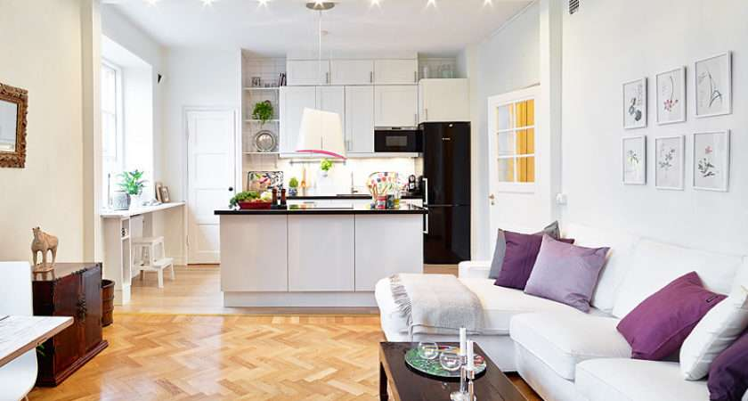 Ideas Kitchen Living Room Small Space