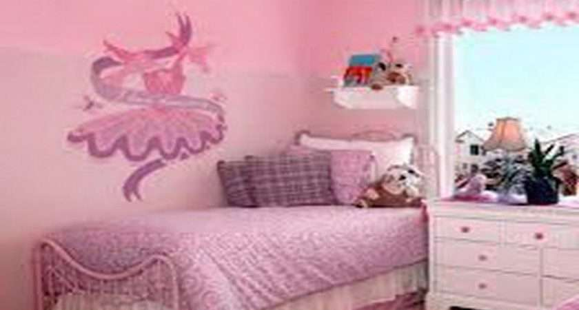 Ideas Little Girl Rooms Wall Mural Decorating