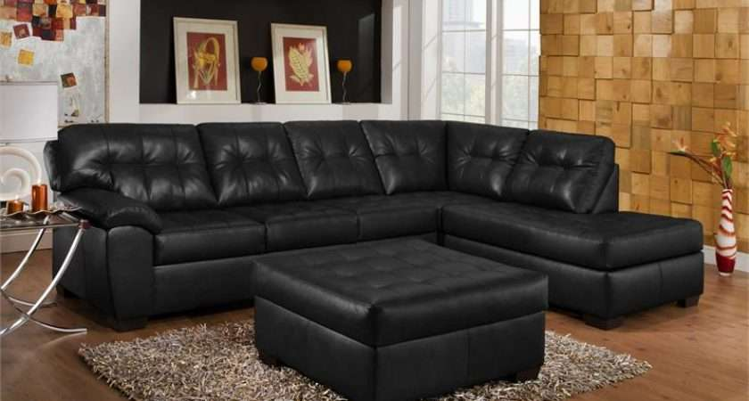 Ideas Pinned Pinterest Decorating Black Leather Couch