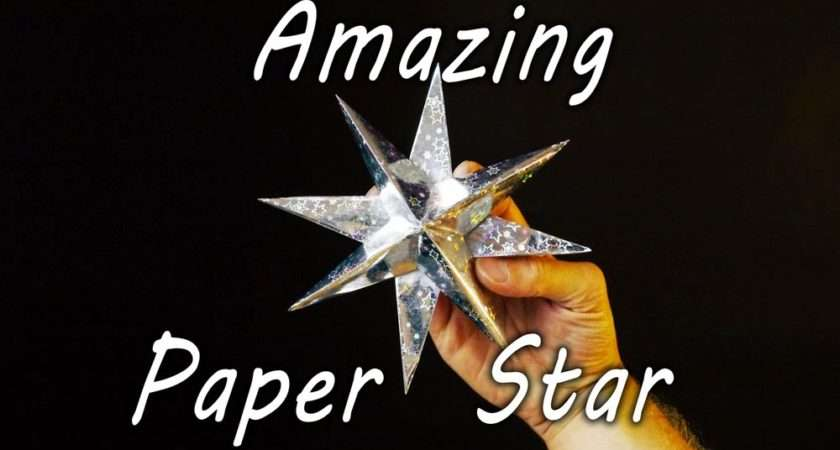 Ideas Products Make Paper Star