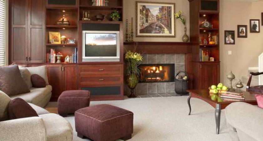 Ideas Room Design Without Fireplace