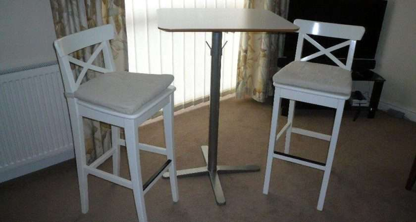 Ikea Bar Stools Breakfast Table Excellent Condition