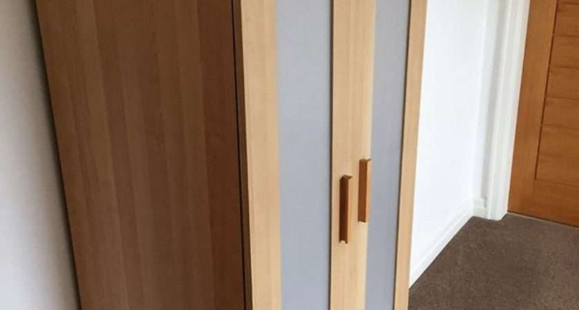 Ikea Beech Wood Door Wardrobe Inner Shelf Must
