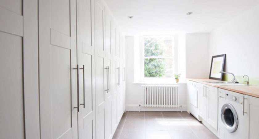 Ikea Cabinets Laundry Room Design Ideas Remodel