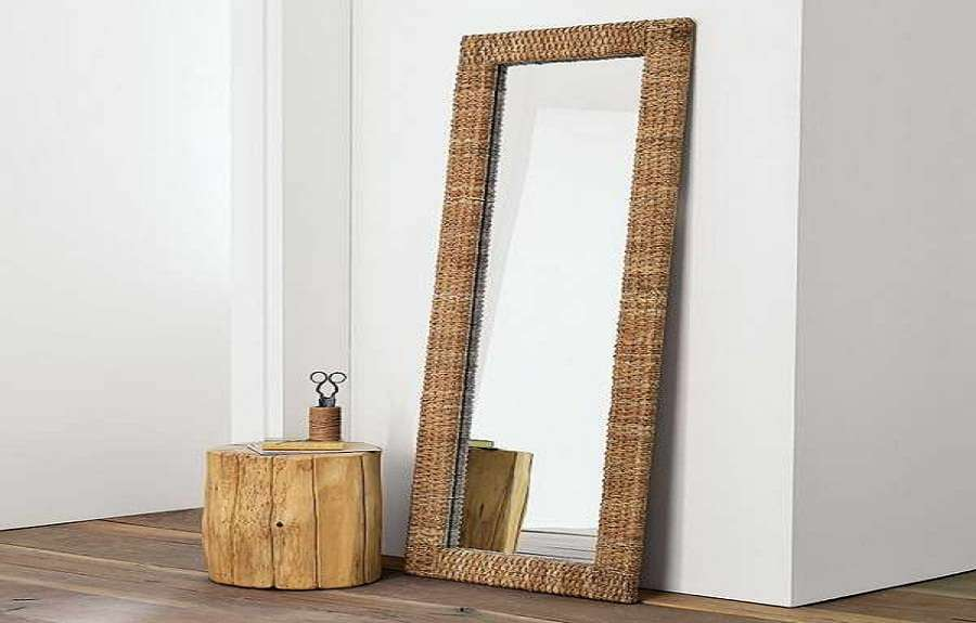 Ikea Floor Mirrors Unique Wood Table Mirror Standing