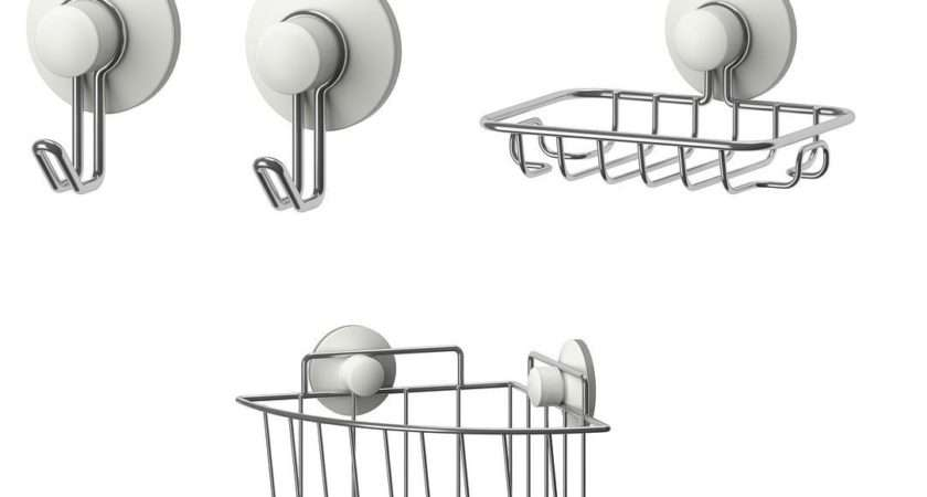 Ikea Immeln Series Suction Cup Bathroom Accessories