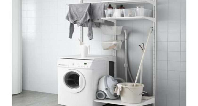 Ikea Laundry Room Ideas Small Living Spaces