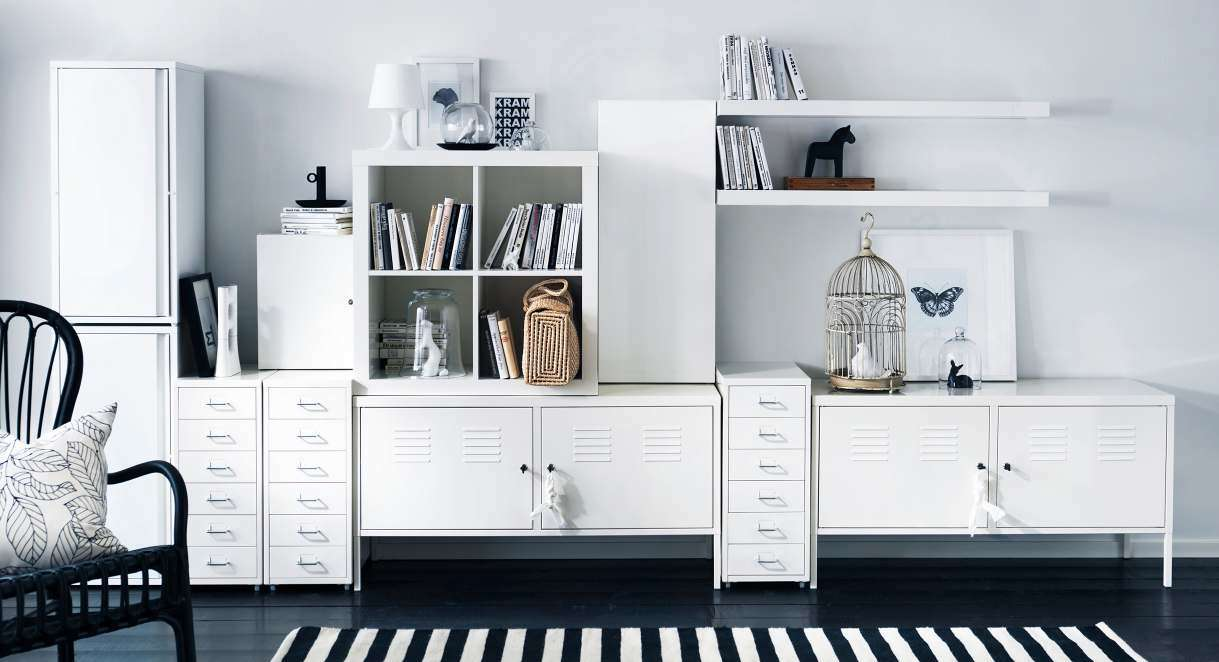 Ikea Storage Organization Ideas Digsdigs