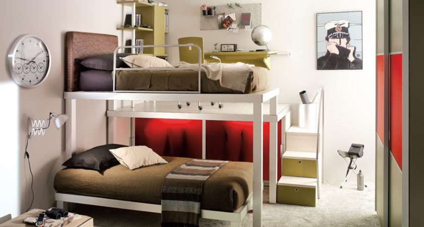 Incredible Teen Bedrooms Bunk Beds Jpeg