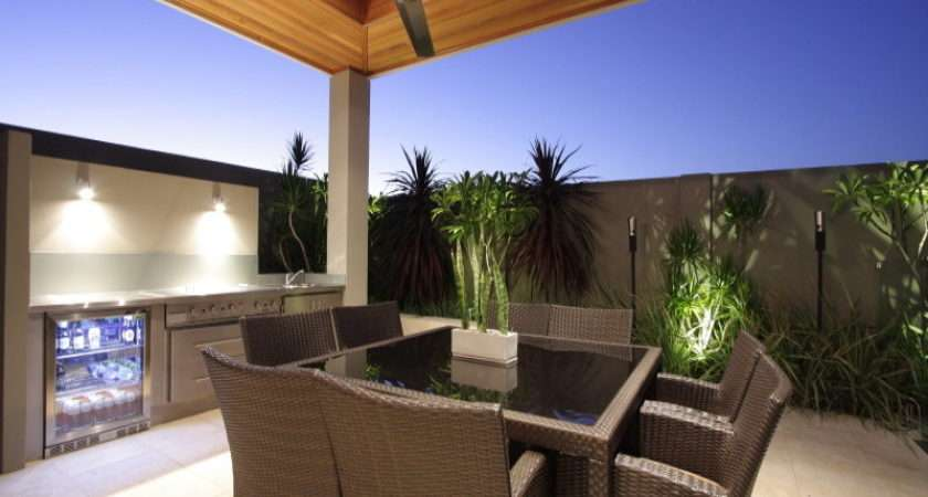 Indoor Outdoor Living Design Bbq Area Decorative