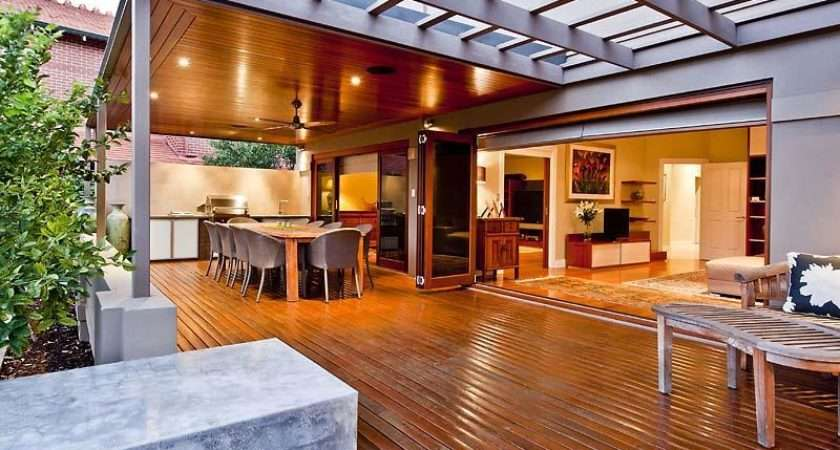 Indoor Outdoor Living Design Verandah Decorative