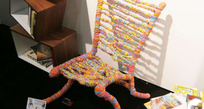 Inhabitat Reports Icff Rubber Band Chair