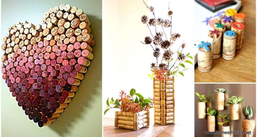 Insanely Creative Diy Cork Recycling Projects
