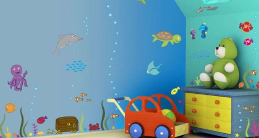 Inspiration Kids Wall Bedroom Art Childrens Decoration