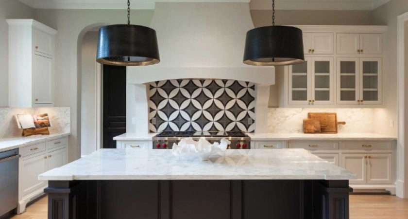 Inspiring Black White Kitchen Decoration Wartaku