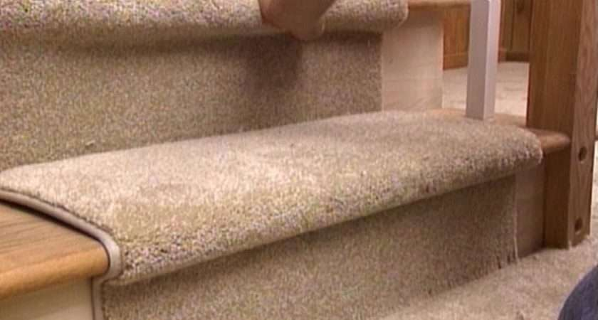 Install Carpet Runner Stairs Easy Ideas Organizing