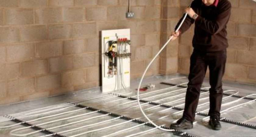 Install Wet Underfloor Heating Homebuilding