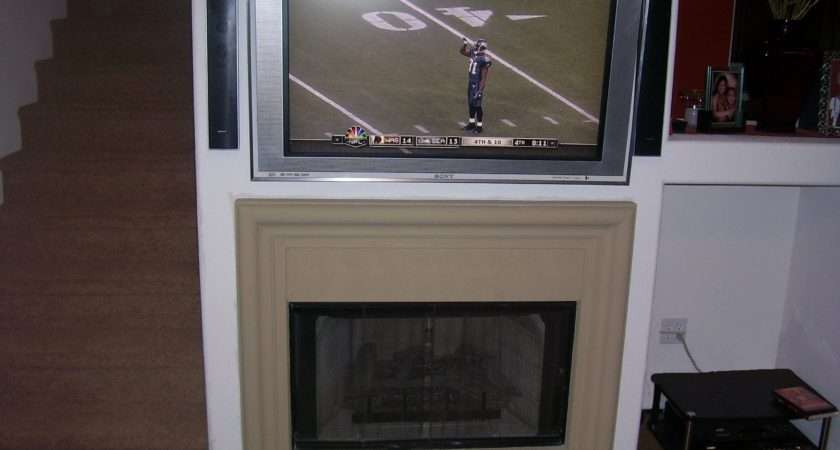 Installation Removal Fireplace Niche
