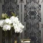 Interior Design Trend Art Deco Wall Stencils