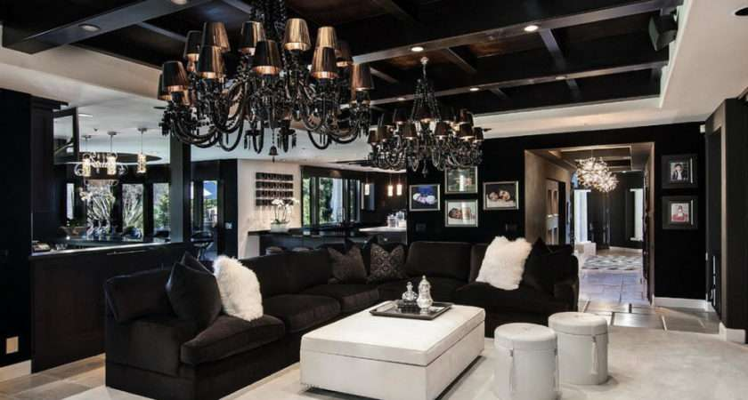 Interior Design Trends Gothic Living Room