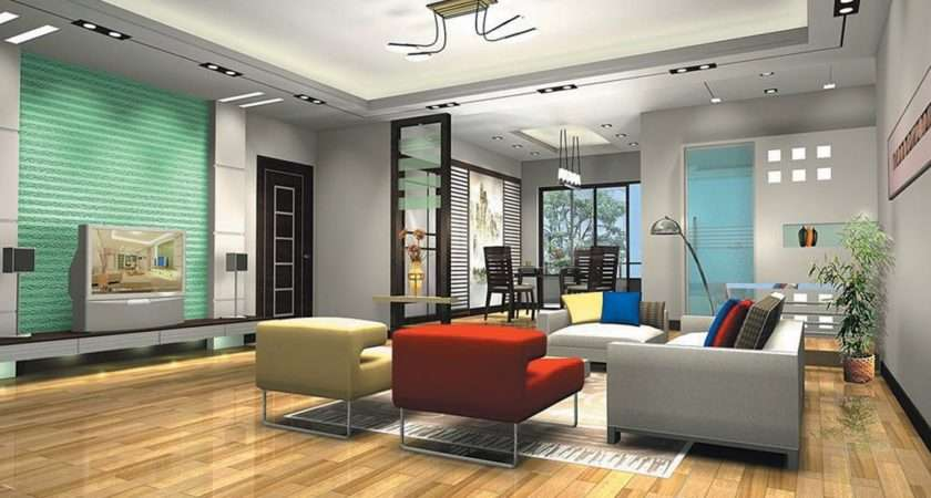 Interior Exterior Plan Contemporary Living Room Design