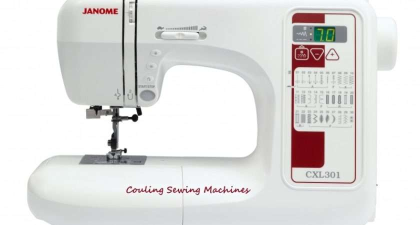 Janome Cxl Sewing Machine Best Seller Couling