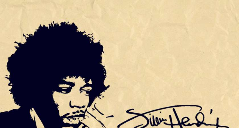 Jimi Hendrix Signature Metal Bands