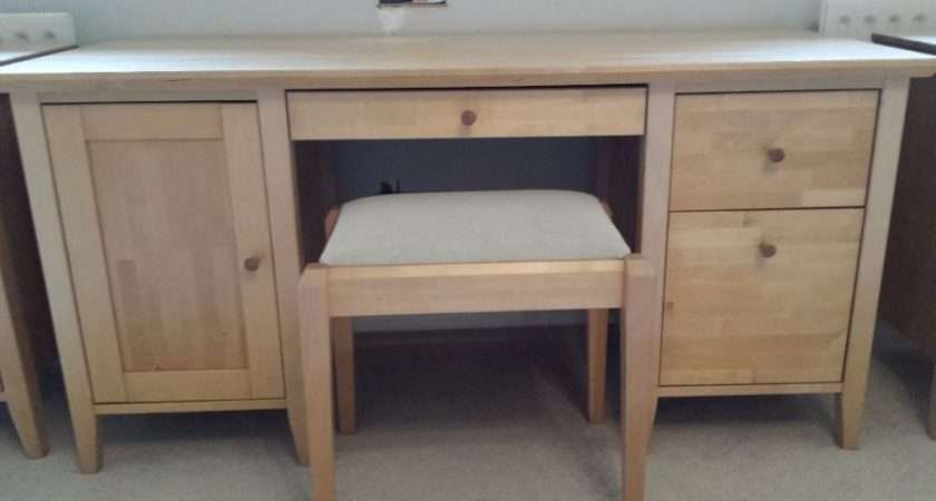 John Lewis Beech Wood Dressing Table Bedside Tables Very Solid