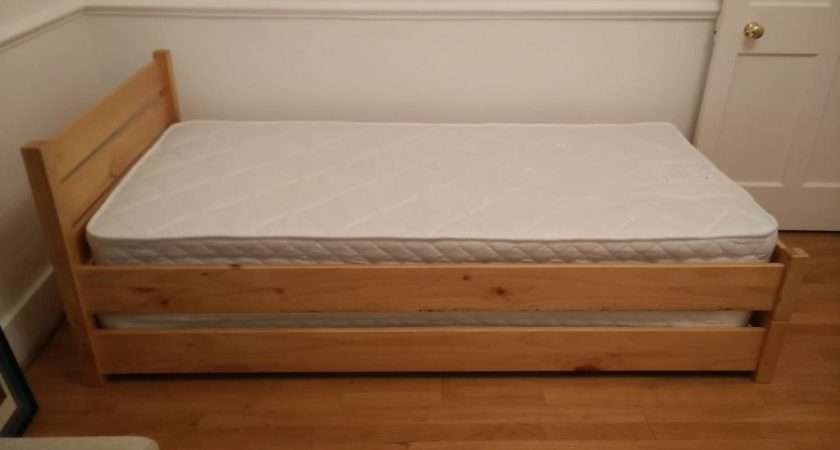 John Lewis Buddy Single Guest Bed Solid Wood