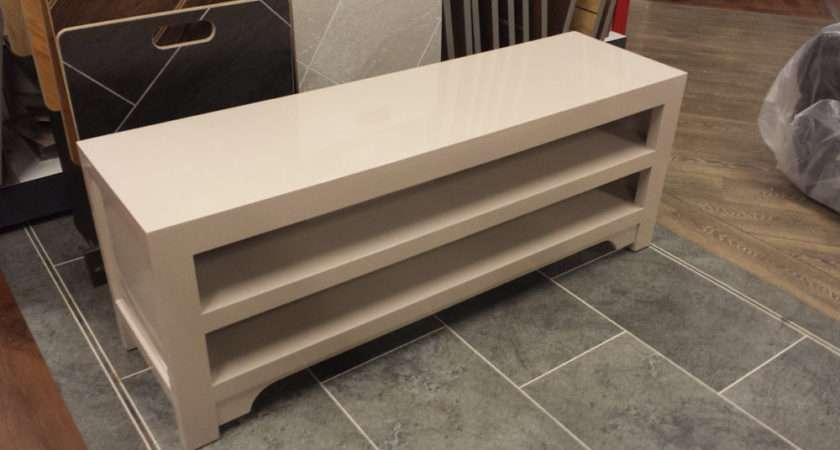 John Lewis Chinese Collection Iris Media Stand Unit Oyster