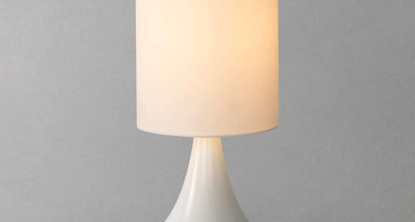 John Lewis Kristy Touch Lamp White