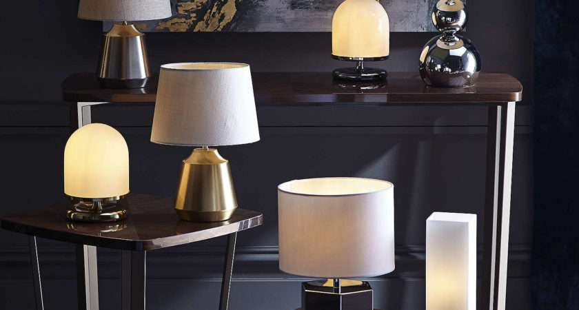 John Lewis Lupin Table Touch Lamp