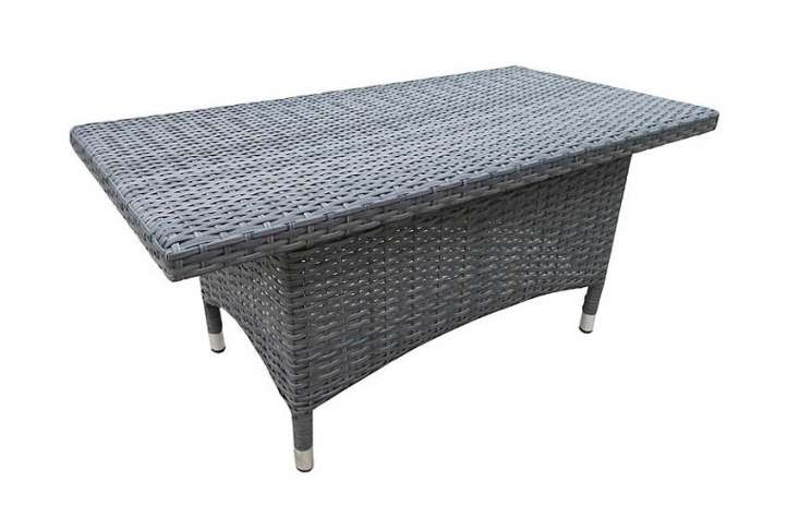 John Lewis Malaga Seat Rattan Sofa Coffee Table Grey Absolute