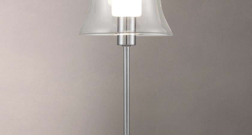 John Lewis Marilyn Glass Layer Touch Lamp