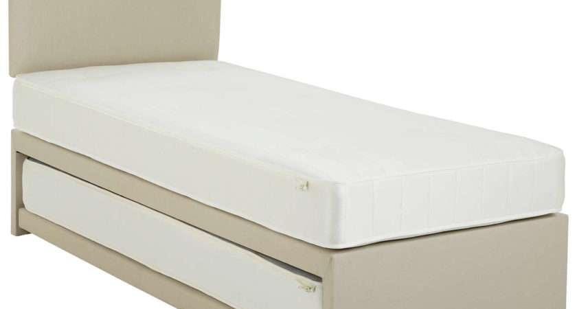 John Lewis Savoy Two Open Spring Trundle Guest Bed Small