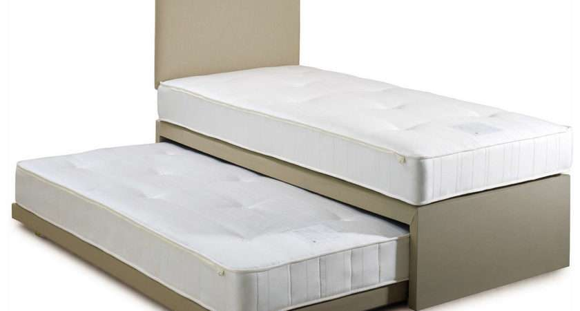 John Lewis Savoy Two Pocket Spring Trundle Guest Bed