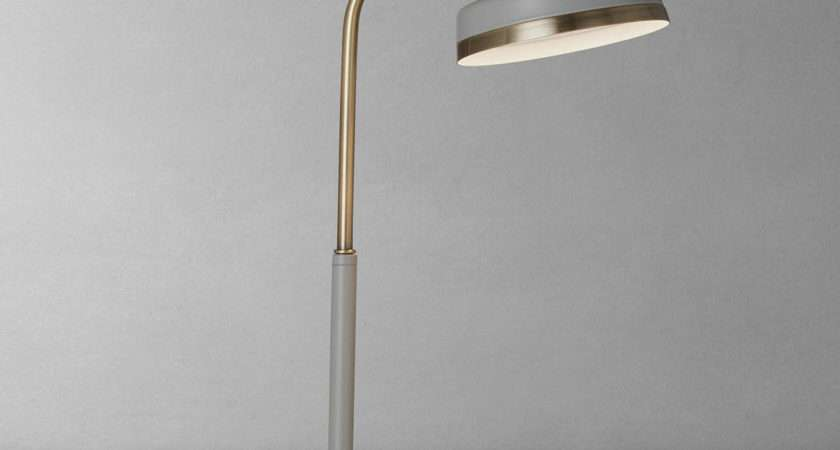 John Lewis Scott Led Touch Lamp Grey Brass