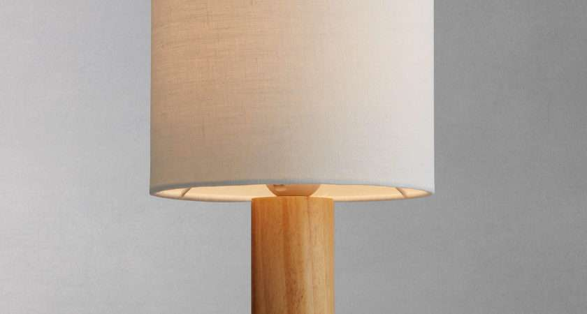 John Lewis Slater Wood Touch Table Lamp