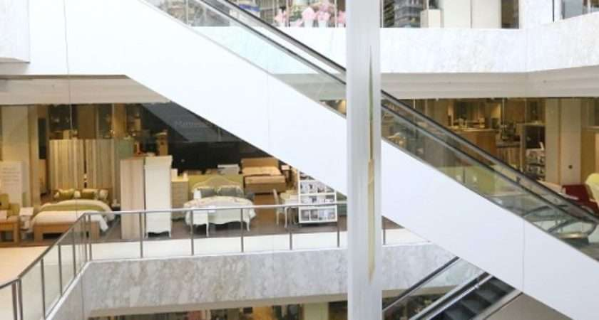 John Lewis Watford Interior Featuring Escalators