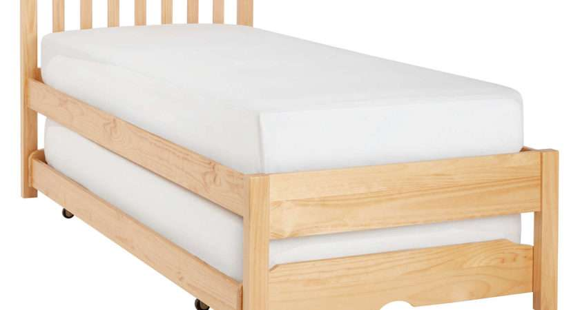 John Lewis Wilton Trundle Guest Bed Open Spring