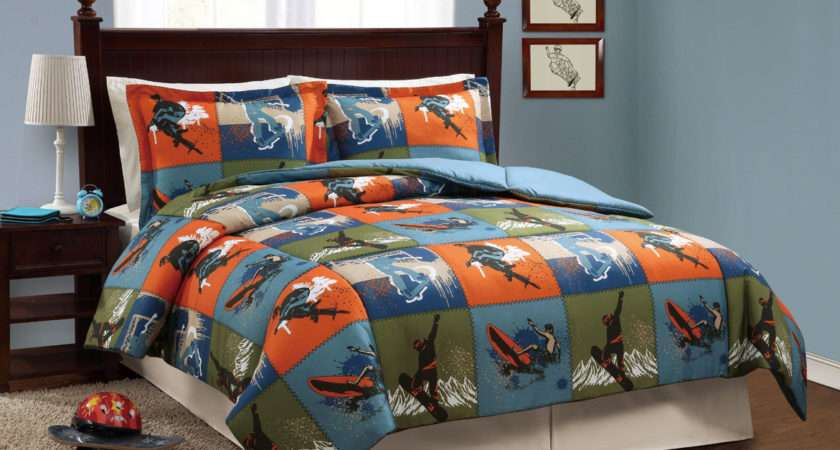 Just Boys Bedding Ultimate Sports Tween