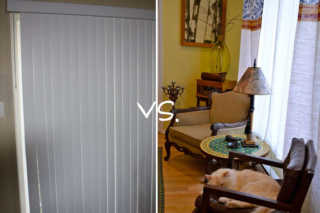 Kate Quickie Goodbye Ugly Vertical Blinds Diy