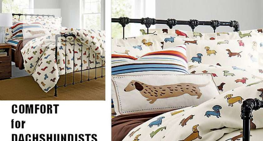 Keep Warm Winter Your Own Dachshund Flannel Sheets