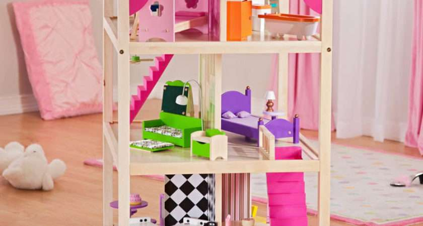 Kidkraft Chic Dollshouse Children Wooden