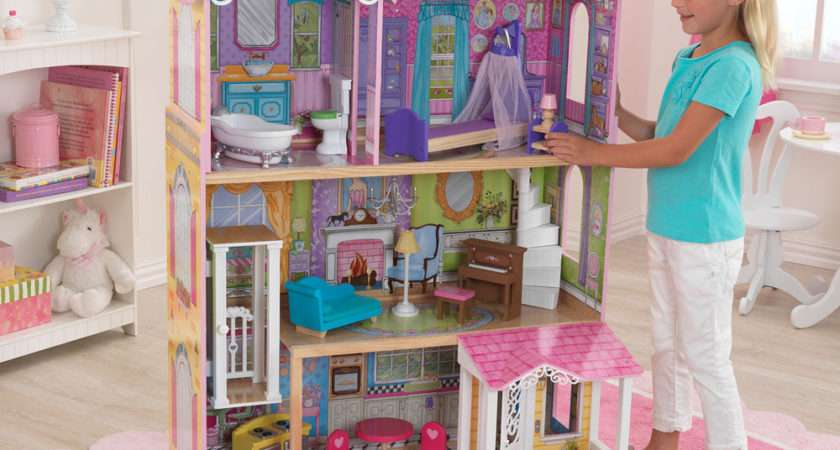 Kidkraft Sweet Pretty Wooden Kids Dolls House Furniture