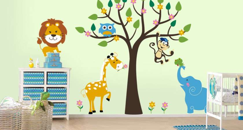 Kids Bedroom Wall Painting Decoration Ideas Liftupthyneighbor